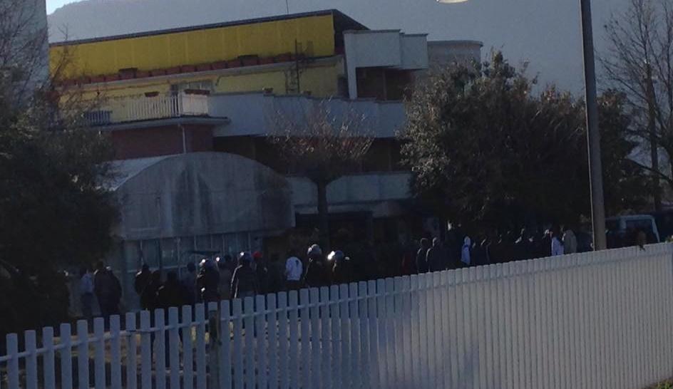 Protesta profughi Monteroduni 6