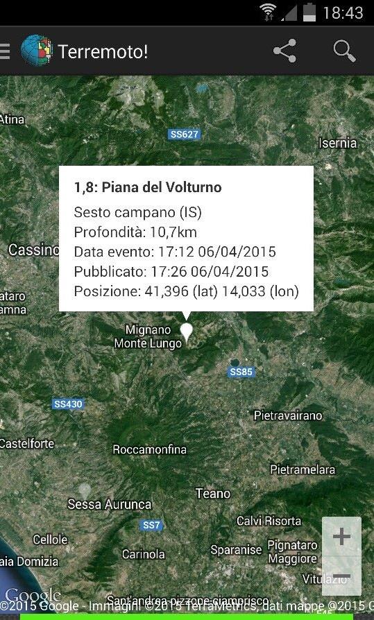 terremoto sesto pasquetta 2015