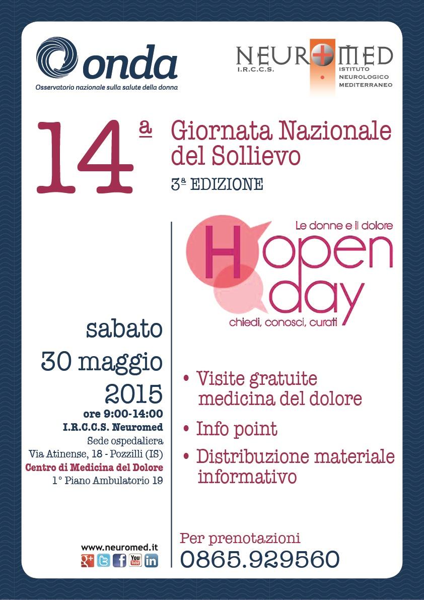 locandinaonda_open day sollievo