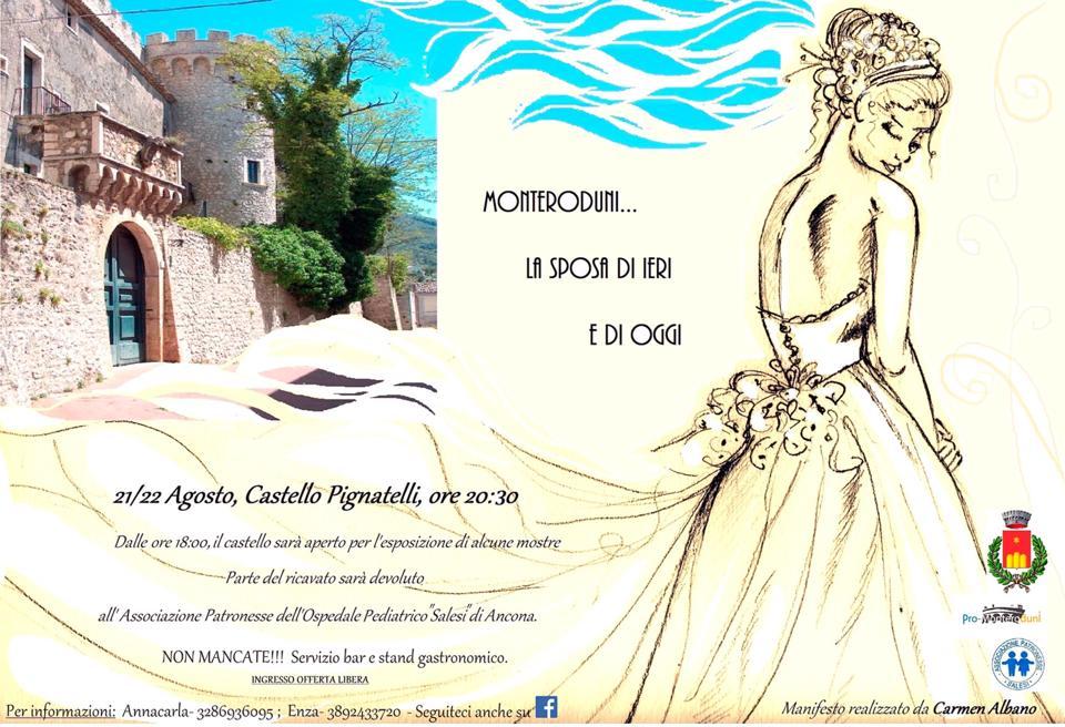 Monteroduni sposa ieri e oggi