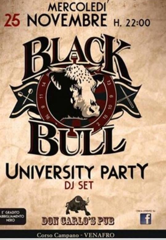 don carlos black bull