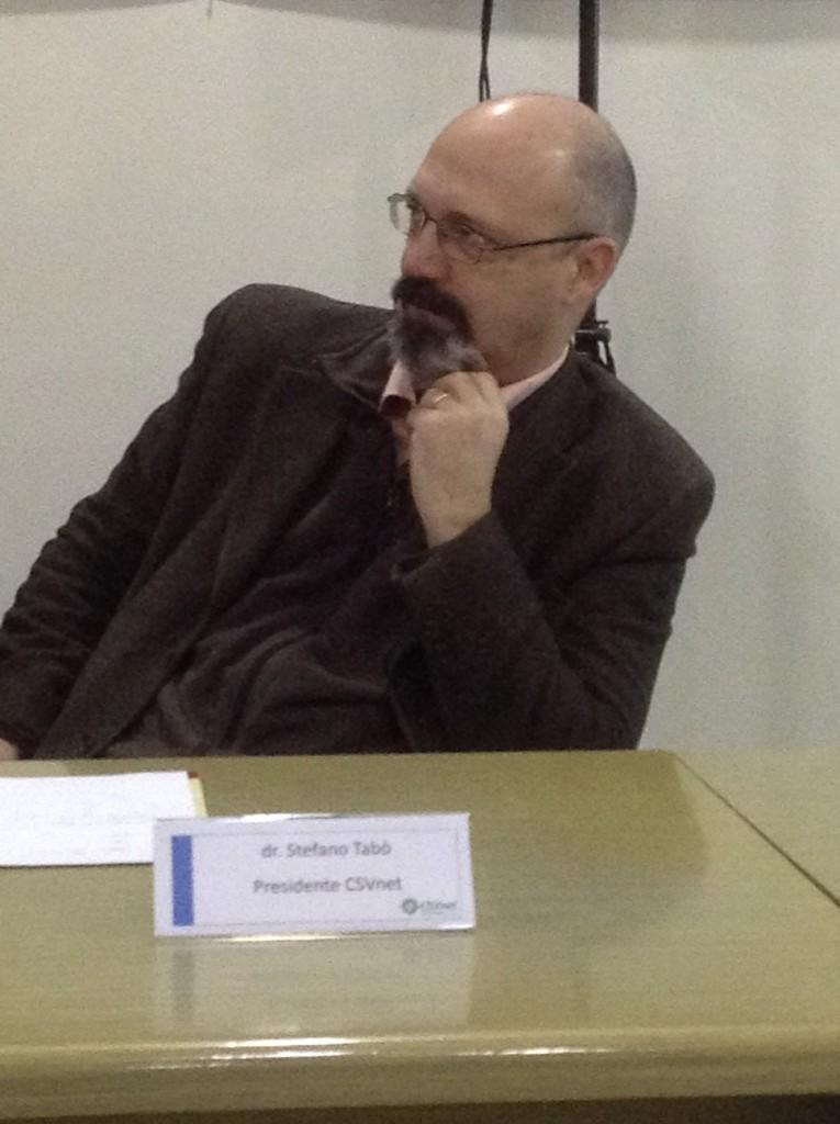 Stefano Tabò presidente nazionale CSVnet