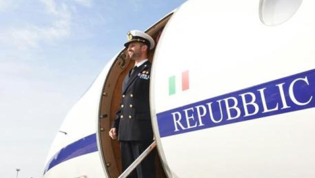 Mar salvatore girone e in italia atterrato a ciampino
