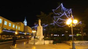 Luminarie in Piazza della Libertà