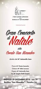 concerto di natale san nicandro
