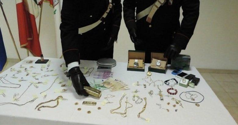 furto gioielli