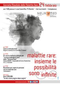 Locandina Malattie Rare Neuromed Campobasso