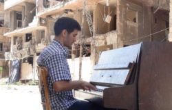 Il pianista AEHAM AHMAD a Campobasso