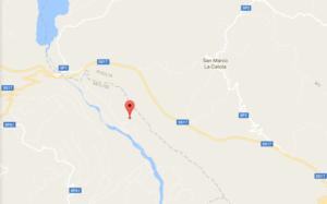 Scossa di terremoto Tufara