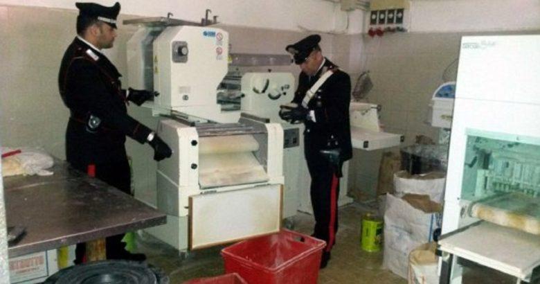 sequestro prodotti alimentari carabinieri