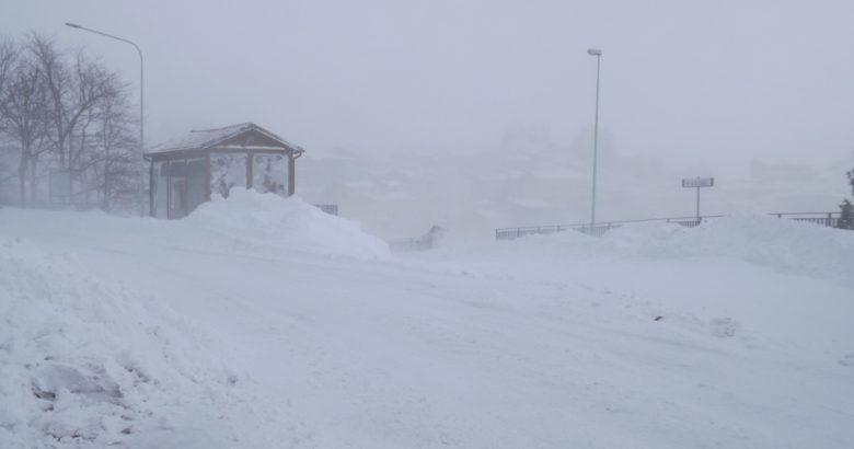 Molise emergenza neve