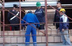 sicurezza sui luoghi di lavoro, cantieri, carabinieri