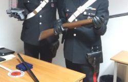 sequestro armi 1 carabinieri