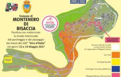 Piantina Villaggio Partenza giro d'Italia Montenero di Bisaccia