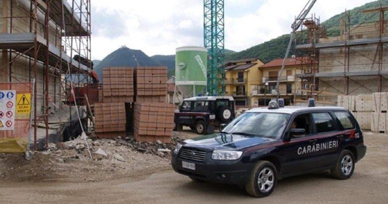 controllo cantieri carabinieri