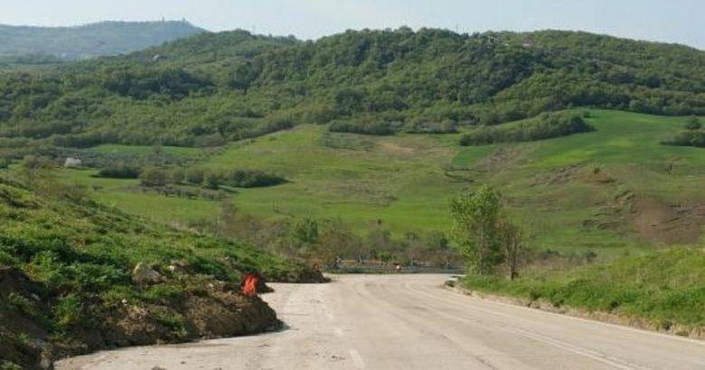 viabilità area cratere
