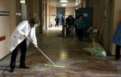 lavoratori pulimento scuola