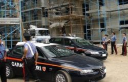 carabinieri controllo cantiere