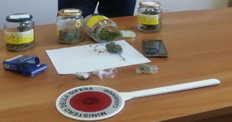 marijuana in vasetti petacciato