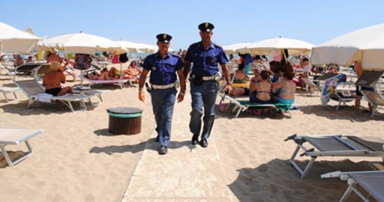 polizia furto lido