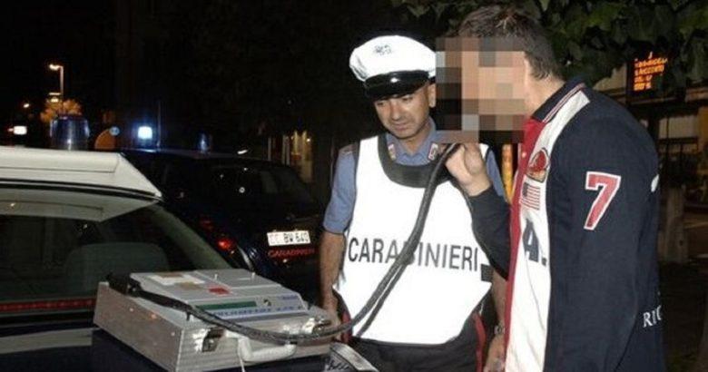 ubriaco carabinieri