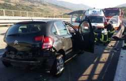 incidente stradale fondo valle trignina