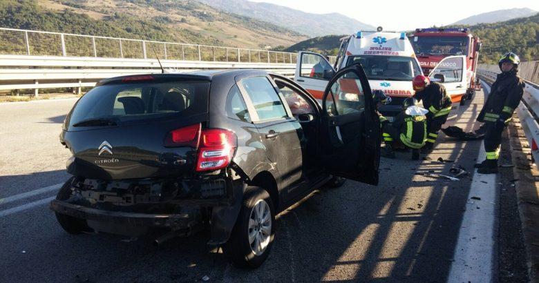incidente stradale fondo valle trignina