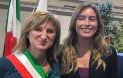 Sindaco di Gambatesa con Maria Elena Boschi