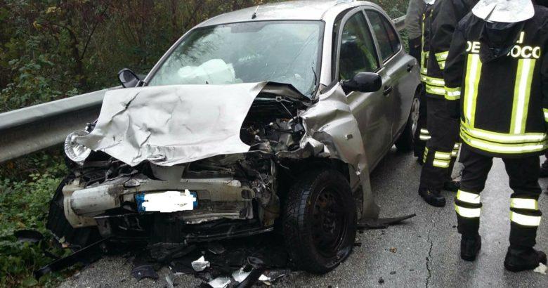 incidente roccaravindola ss 158