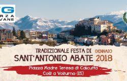 Colli a Volturno,festa di Sant'Antonio Abate