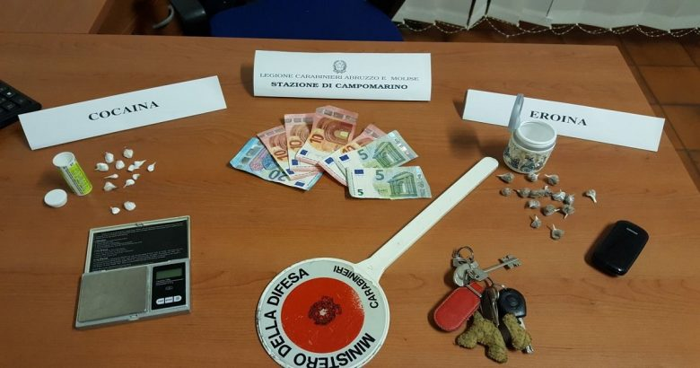 arrestato 60enne Campomarino