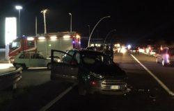 incidente lungo la SS 85, due i veicoli coinvolti