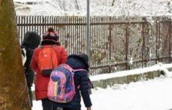 scuole chiuse neve