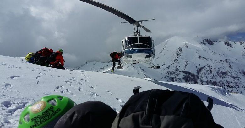 esercitazione soccorso alpino campitello matese