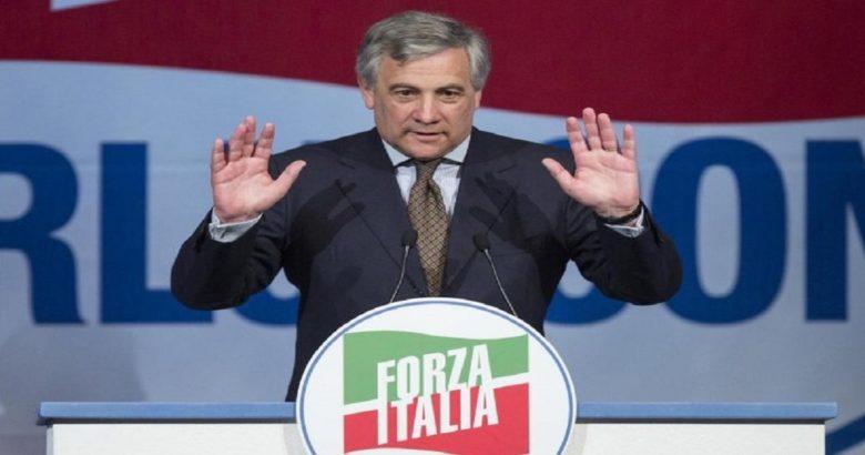 Antonio Tajani Forza Italia