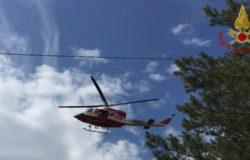 92enne scomparsa da qualche giorno, elicotteri dei Vigili del Fuoco e unità cinofile per la ricerca