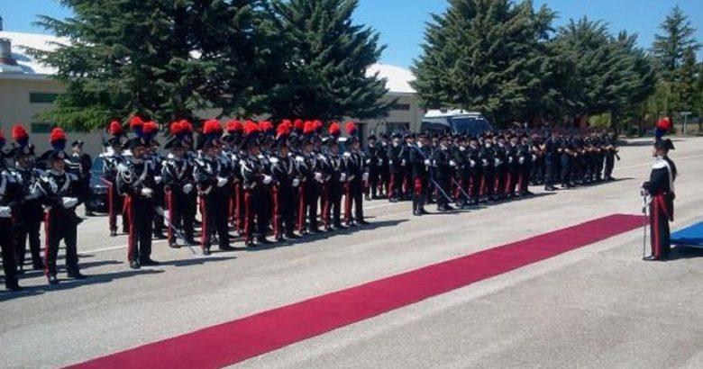 giuramento allievi carabinieri campobasso