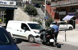 scooter contro furgone venafro