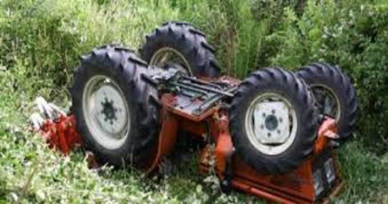 travolto da un trattore
