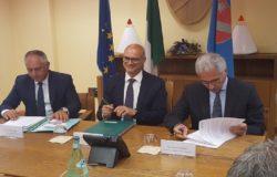 Firma accordo Regione Molise-Rfi
