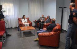 Isernia, visita del nuovo Procuratore dott. Carlo Fucci