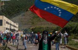 Per non dimenticare il Venezuela, manifestazione Toro