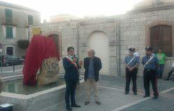 Petrella Tifernina, inaugurata la vasca ornamentale del paese con la statua del patrono San Giorgio