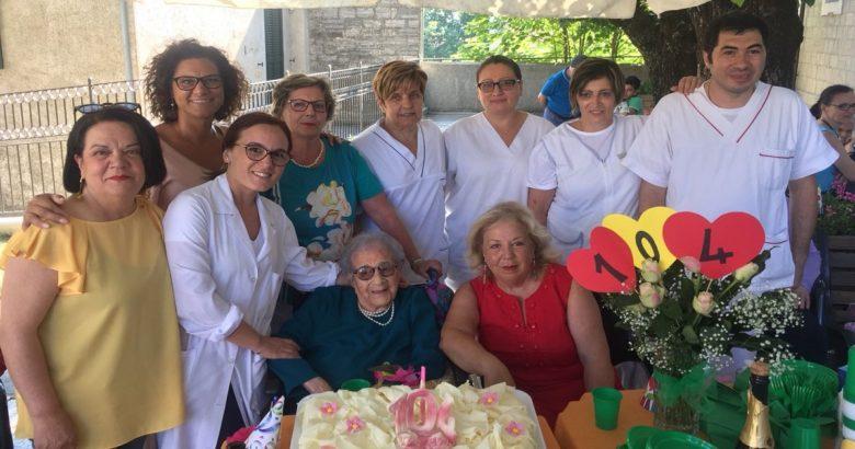 Raffaela Sozio 104 anni