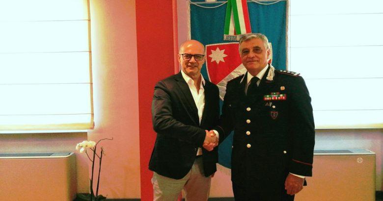 REGIONE - Palazzo Vitale, Toma incontra il generale Tomasone