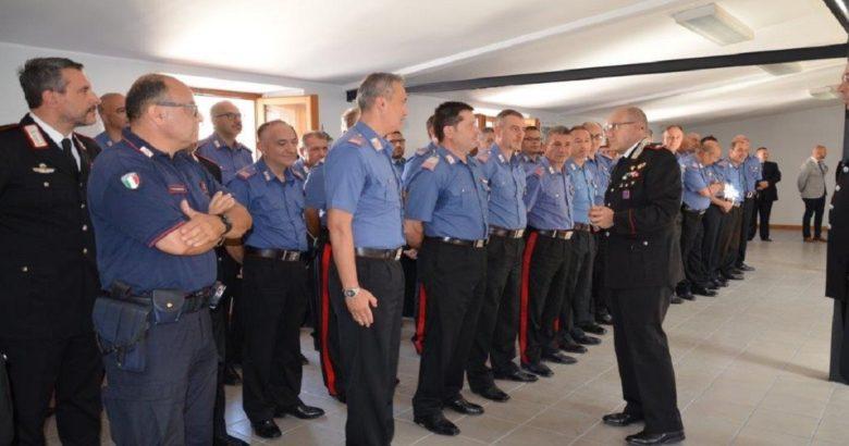 Campobasso, visita del nuovo Comandante della Legione