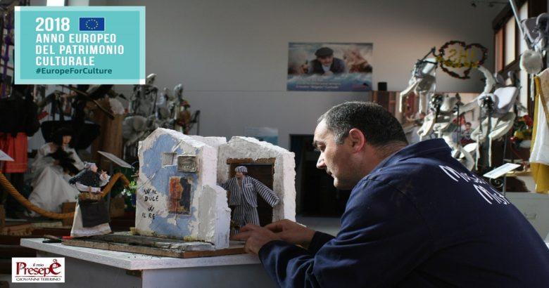 Marchio dell'Anno Europeo del Patrimonio Culturale 2018, un altro prestigioso riconoscimento per Giovanni Teberino e la sua Mostra dei Presepi