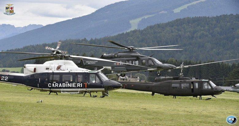 Operazione Grifone, esercitazione internazionale di soccorso aereo Campochiaro