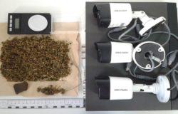 Droga in casa e telecamere senza autorizzazione, arrestato 25enne