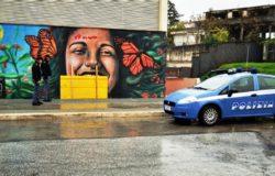 ISERNIA – Murale dell'Auditorium sfondato, trovato il colpevole